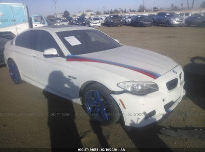 2012 BMW 550 XI