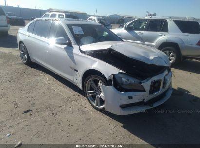 2012 BMW 750 LI