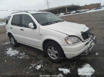 2000 MERCEDES-BENZ ML 320
