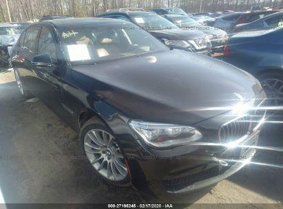 2014 BMW 750 LXI