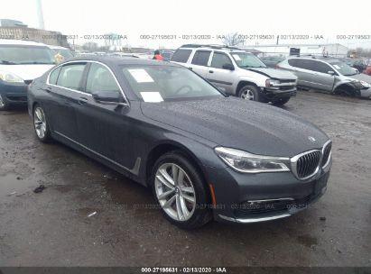 2017 BMW 750 XI