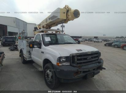 2002 FORD F550 SUPER DUTY
