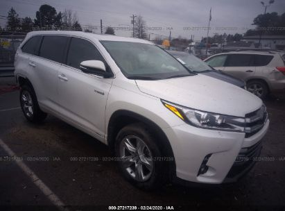 2017 TOYOTA HIGHLANDER HYBRID LTD PLATINUM