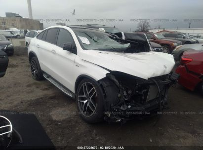 2017 MERCEDES-BENZ GLE COUPE 43 AMG