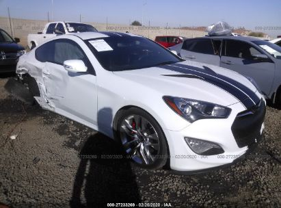 2016 HYUNDAI GENESIS COUPE 3.8 R-SPEC/3.8 ULTIMATE