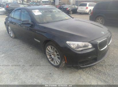 2015 BMW 750 XI
