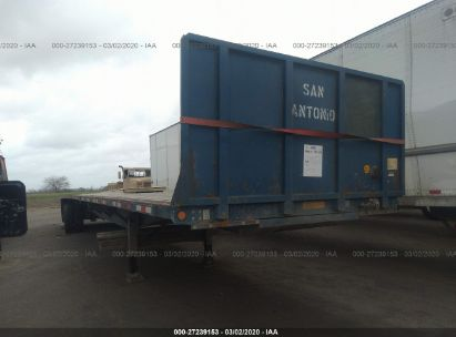 2007 UTILITY TRAILER MFG FLATBED