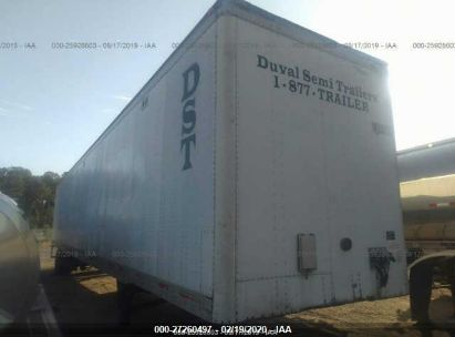 2004 UTILITY TRAILER MFG SEMI TRAILER