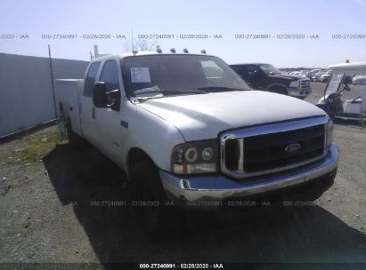 2001 FORD F350 SRW SUPER DUTY