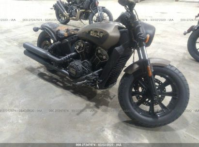 2019 INDIAN MOTORCYCLE CO. SCOUT BOBBER ABS
