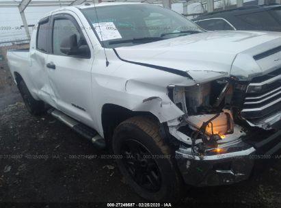 2016 TOYOTA TUNDRA DOUBLE CAB SR/SR5