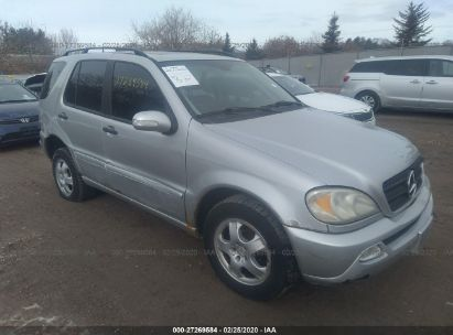 2003 MERCEDES-BENZ ML 350