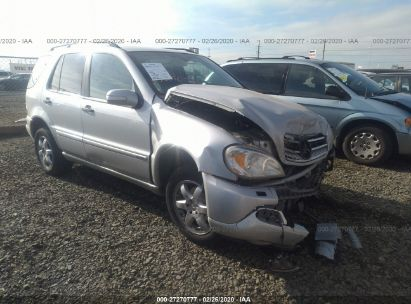 2004 MERCEDES-BENZ ML 350