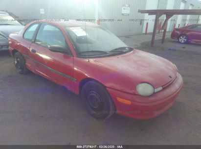 1997 PLYMOUTH NEON EX