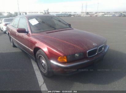 1998 BMW 740 I AUTOMATIC
