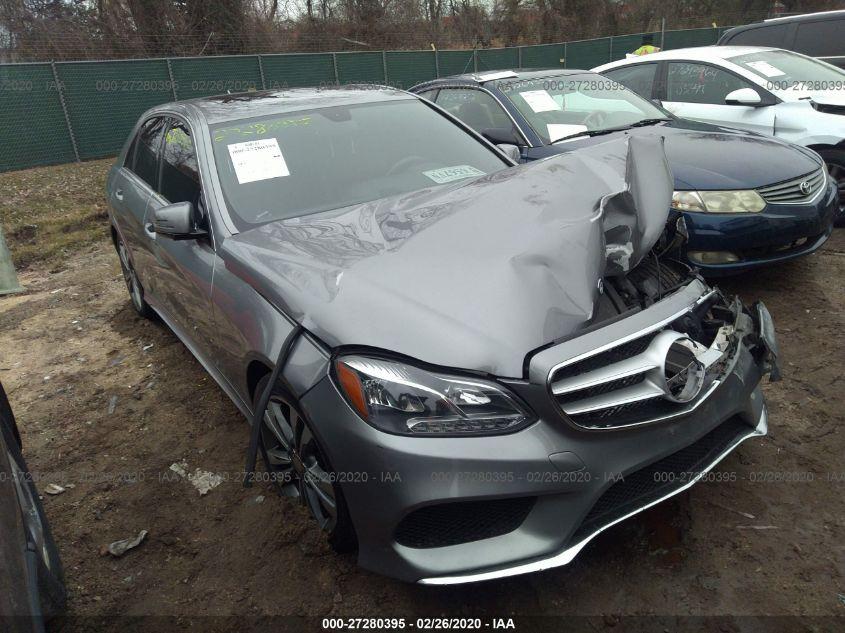 2015 Mercedes-benz E 3.5. Lot 11133423263 Vin WDDHF5KB0FB107503