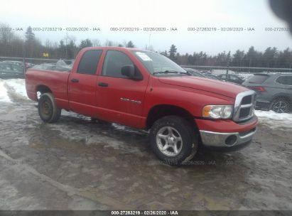 2005 DODGE RAM 1500 ST/SLT