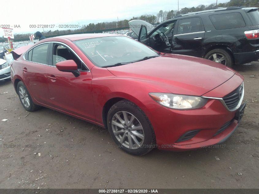 2014 Mazda 6 2.5. Lot 11133422125 Vin JM1GJ1U50E1102620