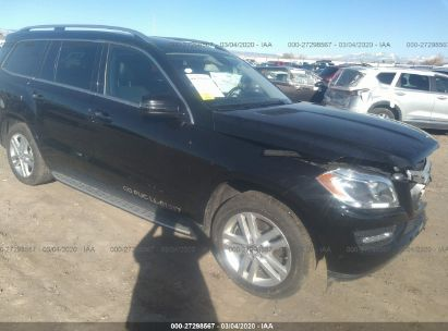 2013 MERCEDES-BENZ GL 450 4MATIC