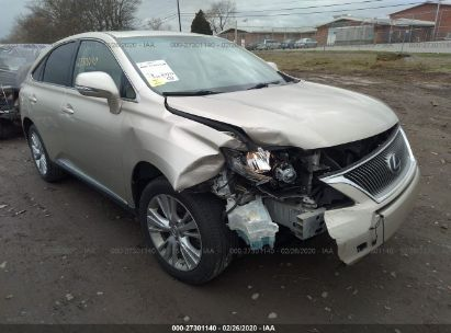 2012 LEXUS RX 450
