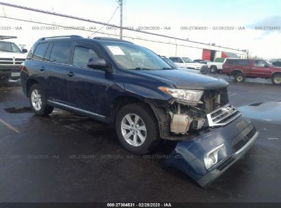 2013 TOYOTA HIGHLANDER PLUS/SE