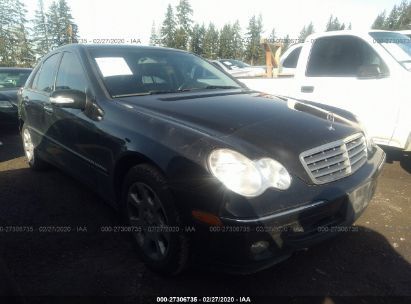 2005 MERCEDES-BENZ C 320 4MATIC