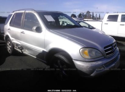 2003 MERCEDES-BENZ ML 500