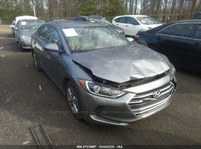 2017 HYUNDAI ELANTRA SE/VALUE/LIMITED