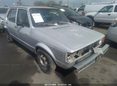 1982 VOLKSWAGEN RABBIT L CUSTOM