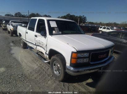 2000 gmc sierra 2500 crew cab c2500 for auction iaa iaa