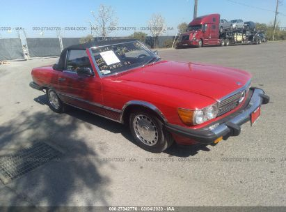 1987 MERCEDES-BENZ 560 SL