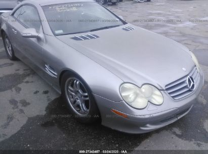 2003 MERCEDES-BENZ SL 500R