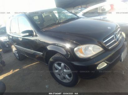 2005 MERCEDES-BENZ ML 500