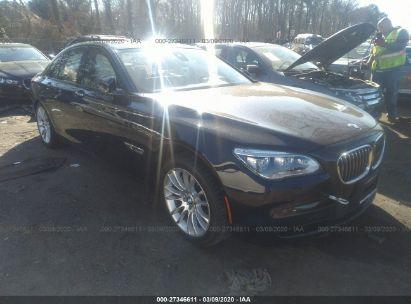 2014 BMW 750 XI