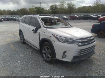 2018 TOYOTA HIGHLANDER HYBRID LTD PLATINUM