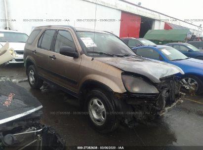2002 HONDA CR-V LX