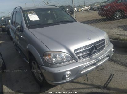 2004 MERCEDES-BENZ ML 500
