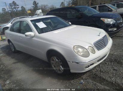 2003 MERCEDES-BENZ E 320