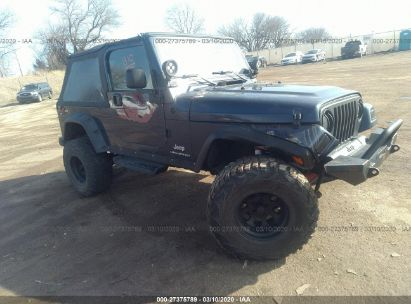 2006 JEEP WRANGLER / TJ UNLIMITED