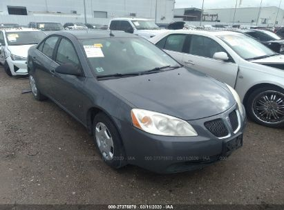 2008 PONTIAC G6 VALUE LEADER/BASE