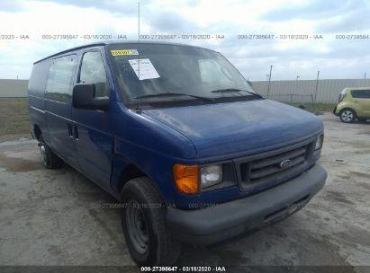 2006 FORD ECONOLINE CARGO VAN E250 VAN