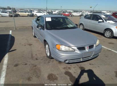 2000 PONTIAC GRAND AM SE2