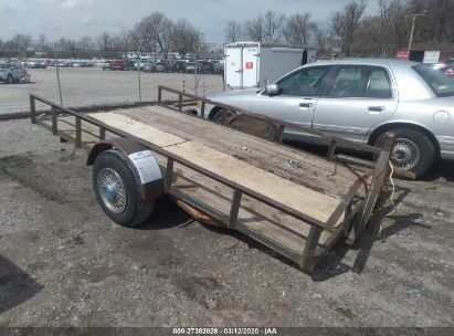 2000 HOMEMADE UTILITY TRAILER