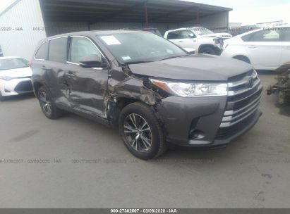 2018 TOYOTA HIGHLANDER LE/LE PLUS