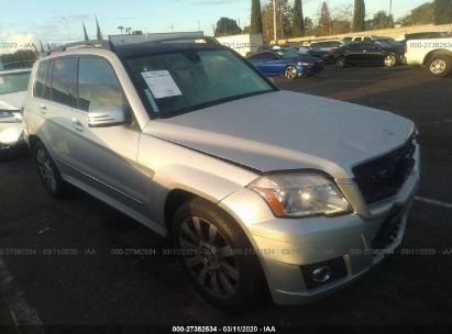 2012 MERCEDES-BENZ GLK 350 4MATIC