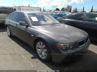 2005 BMW 745 I