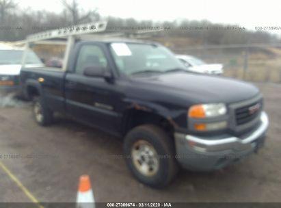 2005 GMC SIERRA C2500 HEAVY DUTY