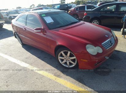 2004 MERCEDES-BENZ C 230K SPORT COUPE
