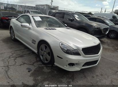 2011 MERCEDES-BENZ SL 550