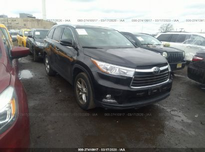 2016 TOYOTA HIGHLANDER LIMITED/LTD PLATINUM